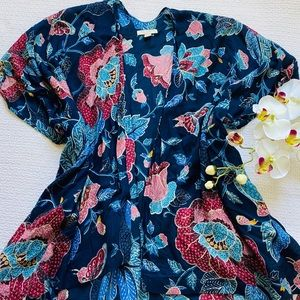 Loft Kimono Floral Vest